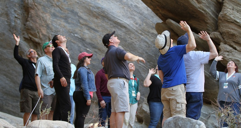 RestaurantSpaces-Attendees-hiking-the-Palm-Springs-Canyon.jpg