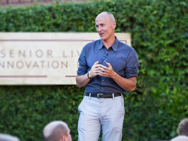 Airbnb's Chip Conley gives Candid Talk at Senior Living Innovation Forum